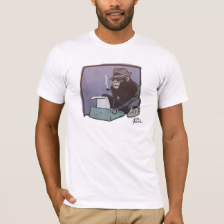 Chimp Can Key shirt (white & black)