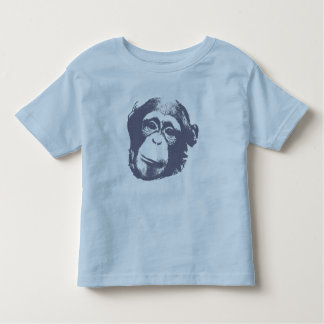 Chimp Face Toddler T-Shirt