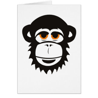 Chimp Greeting Card