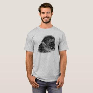 Chimpanzee 01 - WB T-Shirt
