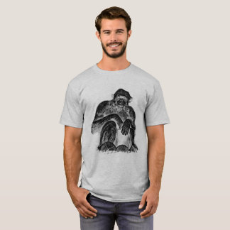 Chimpanzee 02 - WB T-Shirt
