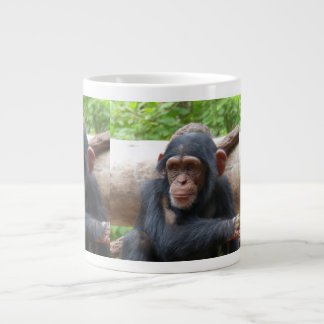 Chimpanzee_2015_0504 Large Coffee Mug
