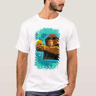 Chimpanzee Holding a Banana T-Shirt