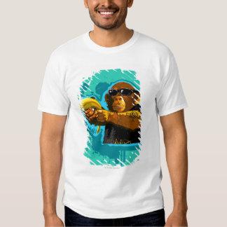 Chimpanzee Holding a Banana Tshirt