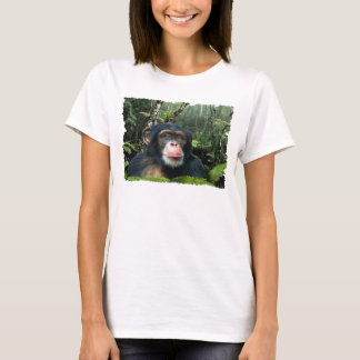 CHIMPANZEE II Wildlife Art & Poem T-shirt