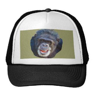 Chimpanzee Picture Cap