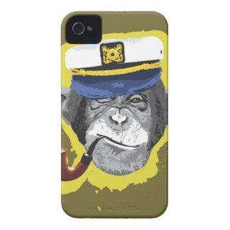 Chimpanzee Smoking Pipe iPhone 4 Case