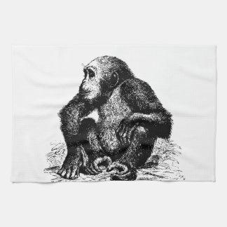 chimpanzee towel