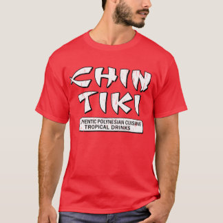 Chin Tiki Detroit T-Shirt