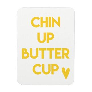 Chin up buttercup | Sweet Motivational Magnet