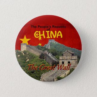 CHINA 6 CM ROUND BADGE