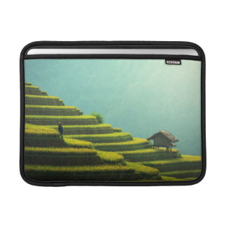 China agriculture rice harvest MacBook sleeve