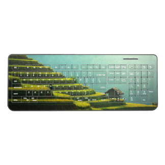 China agriculture rice harvest wireless keyboard
