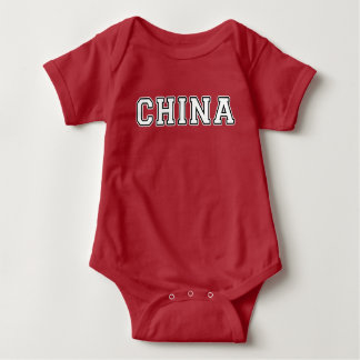 China Baby Bodysuit