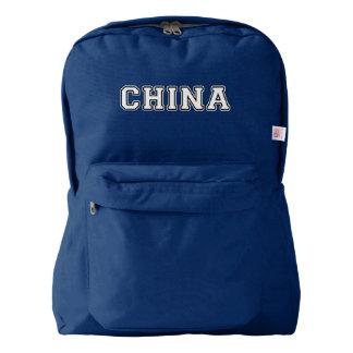 China Backpack