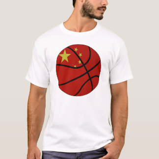 China Basketball T-shirt