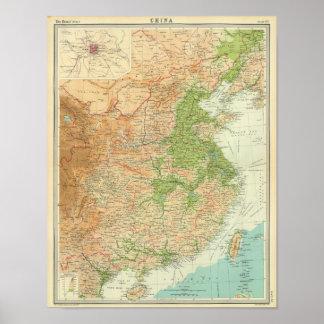 China Beijing Region Poster