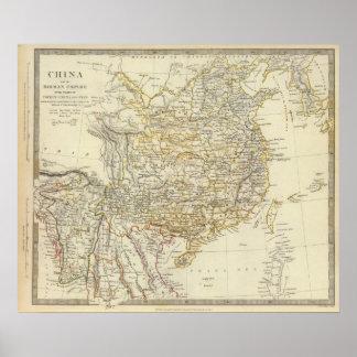 China, Birman Empire, Coch in China, Siam Poster