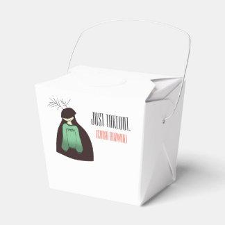 China Brownie takeout box! Favour Box
