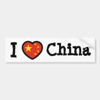 China Bumper Sticker