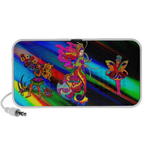 China Butterfly Woman Portable Speaker