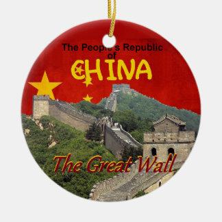 CHINA CERAMIC ORNAMENT