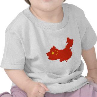 China Country Flag Tshirts