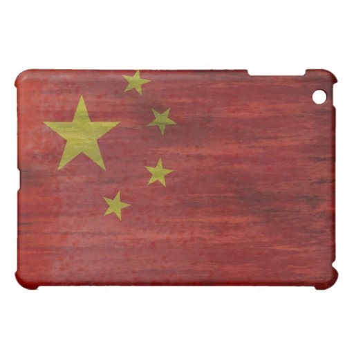 China distressed Chinese flag Cover For The iPad Mini