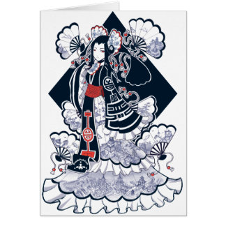China Doll card
