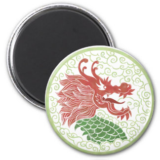 China dragon magnet