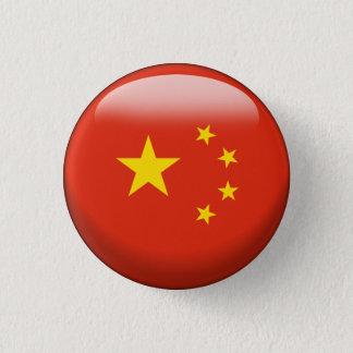 China Flag 3 Cm Round Badge