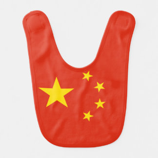 China Flag Bib