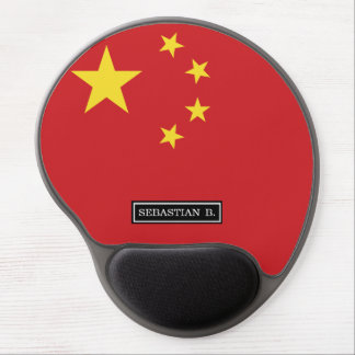China Flag Gel Mouse Pad