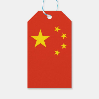 China Flag Gift Tags
