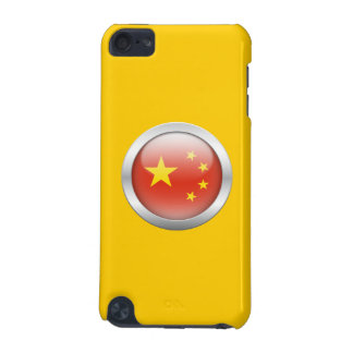 China Flag in Orb iPod Touch (5th Generation) Cases