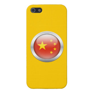 China Flag in Orb Case For iPhone 5/5S