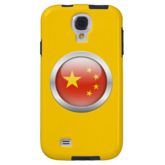 China Flag in Orb Galaxy S4 Case