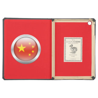 China Flag in Orb iPad Air Cases