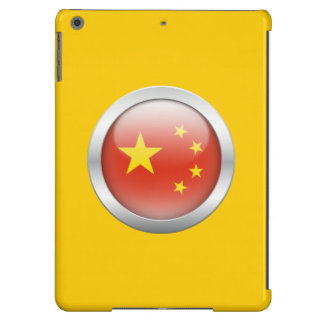 China Flag in Orb iPad Air Covers