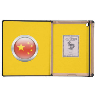 China Flag in Orb iPad Case