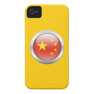 China Flag in Orb iPhone 4 Case-Mate Case