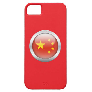 China Flag in Orb iPhone 5/5S Cases