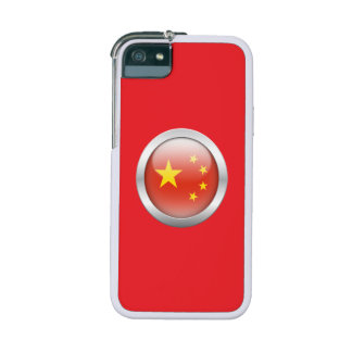 China Flag in Orb iPhone 5 Cover