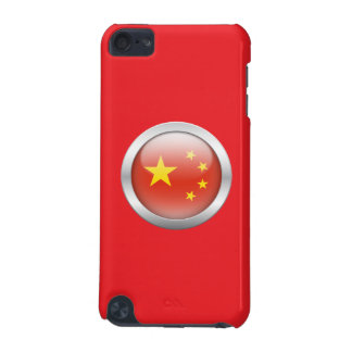 China Flag in Orb iPod Touch (5th Generation) Case