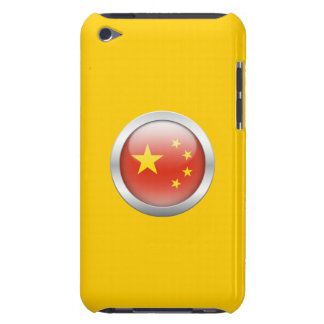 China Flag in Orb iPod Touch Case-Mate Case
