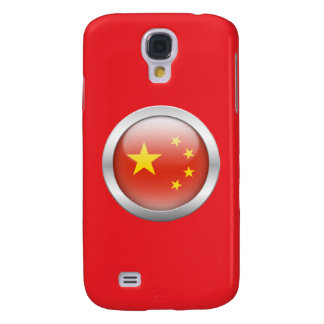 China Flag in Orb Samsung Galaxy S4 Covers
