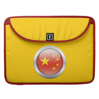 China Flag in Orb Sleeve For MacBook Pro