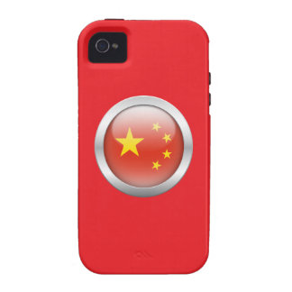 China Flag in Orb Vibe iPhone 4 Covers