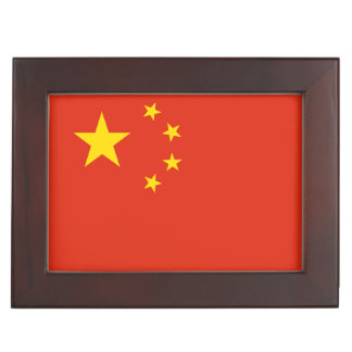China Flag Keepsake Box