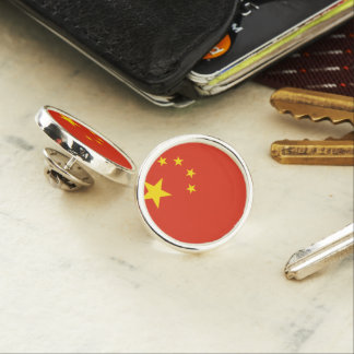 China Flag Lapel Pin